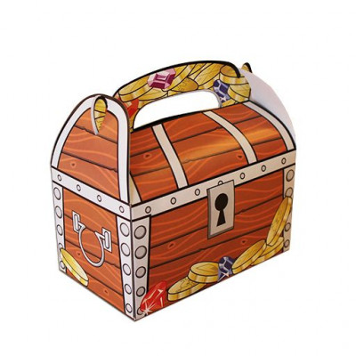 Pirate Treasure Chest, med special Coin. Limided edition
