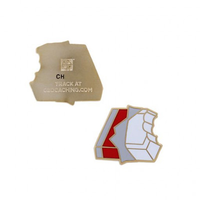 Micro Candy Geocoin- white Chocolate