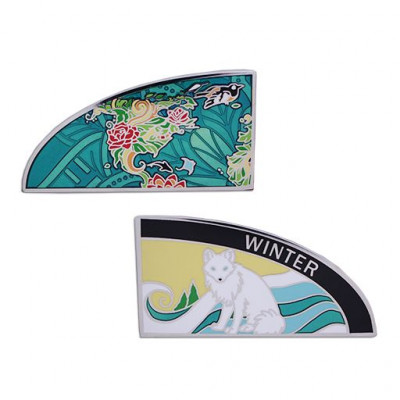 4 Seasons Geocoin - Winter 3 af 4