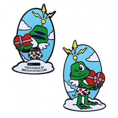 Signal the Frog® Cupid Geocoin