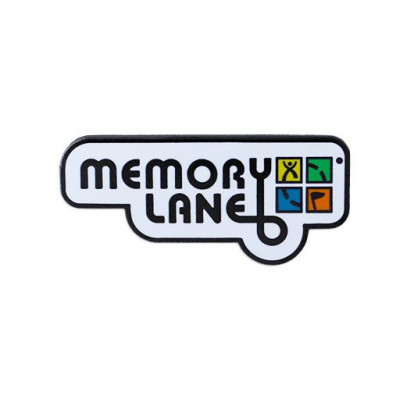 Memory Lane Label Pin
