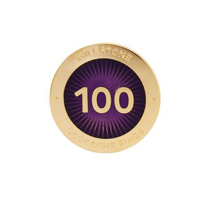 Milestone Pin - 100 fund
