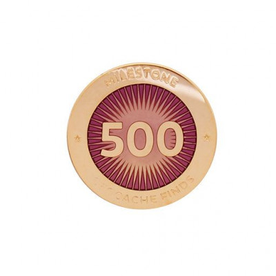 Milestone Pin - 500 fund
