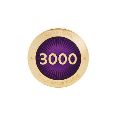 Milestone Pin - 3000 fund
