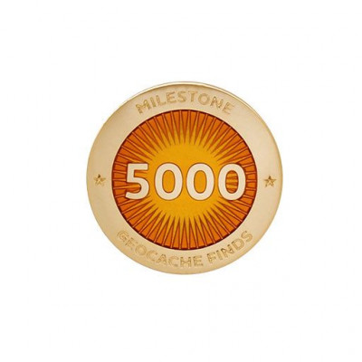 Milestone Pin - 5000 fund