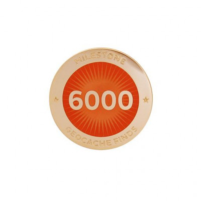 Milestone Pin - 6000 fund