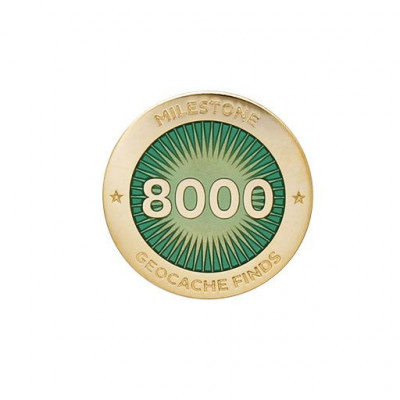 Milestone Pin - 8000 fund
