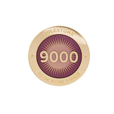 Milestone Pin - 9000 fund