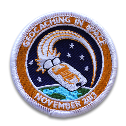 GEOCACHING IN SPACE patch...