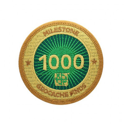 Milestone Patch - 1000 Fund