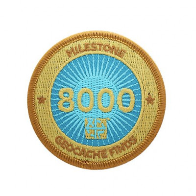 Milestone Patch - 8000 Fund