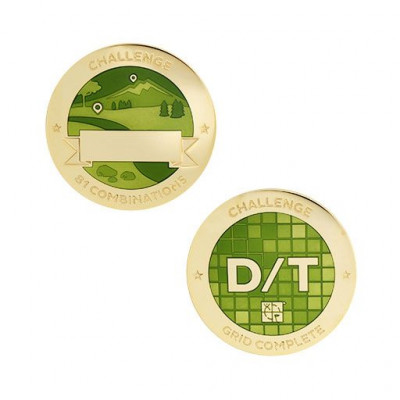 Challenges Geocoin and Tag Set - D/T Grid