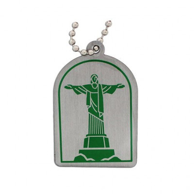 Modern Wonders of the World Trackable Tag- Christ the...