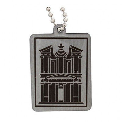 Modern Wonders of the World Trackable Tag- Petra