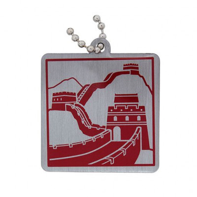 Modern Wonders of the World Trackable Tag- Great Wall of...