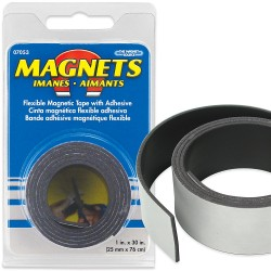 Magnet tape - Flexible Magnetic Tape with Adhesive