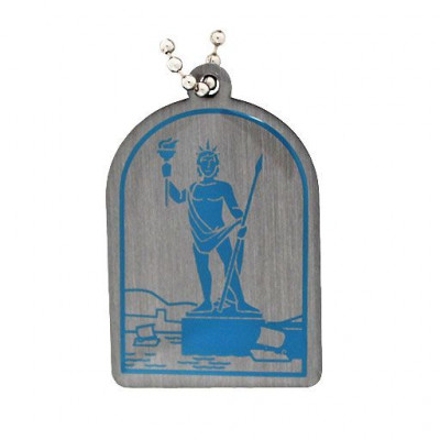Ancient Wonders of the World Trackable Tag- Colossus of...