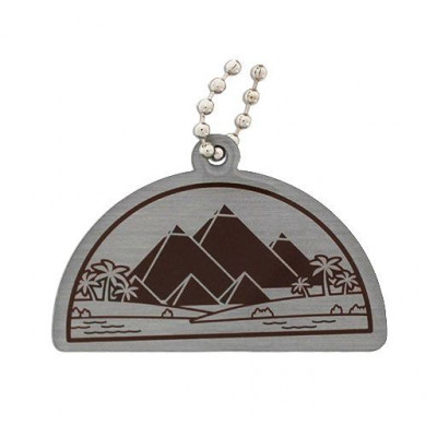Ancient Wonders of the World Trackable Tag- Great Pyramid...
