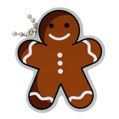 Gingerbread Man Travel Tag  2020