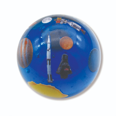 Jumbo Trackable Solar System Marble with Space Ships 2020
