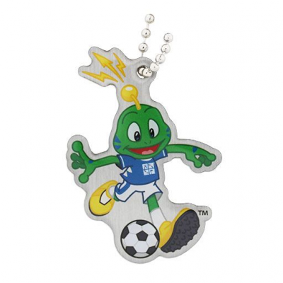 Signal the Frog® Summer Sports Travel Tag - Soccer - fodbold