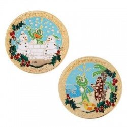 Signal Holiday Geocoin -...