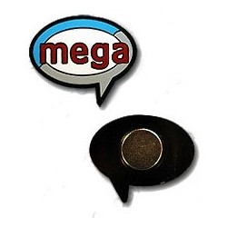 mega pin - Geocaching pin til Mega Event