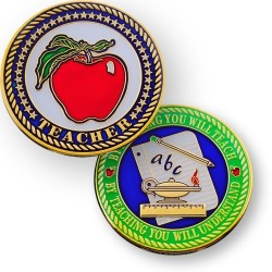 Teacher geocoin - By...