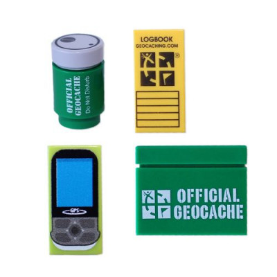 Custom Geocaching Accessory Lego Brick Pack